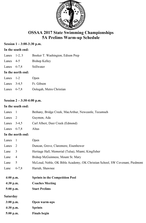 The schedule is below... Rocket Pride!